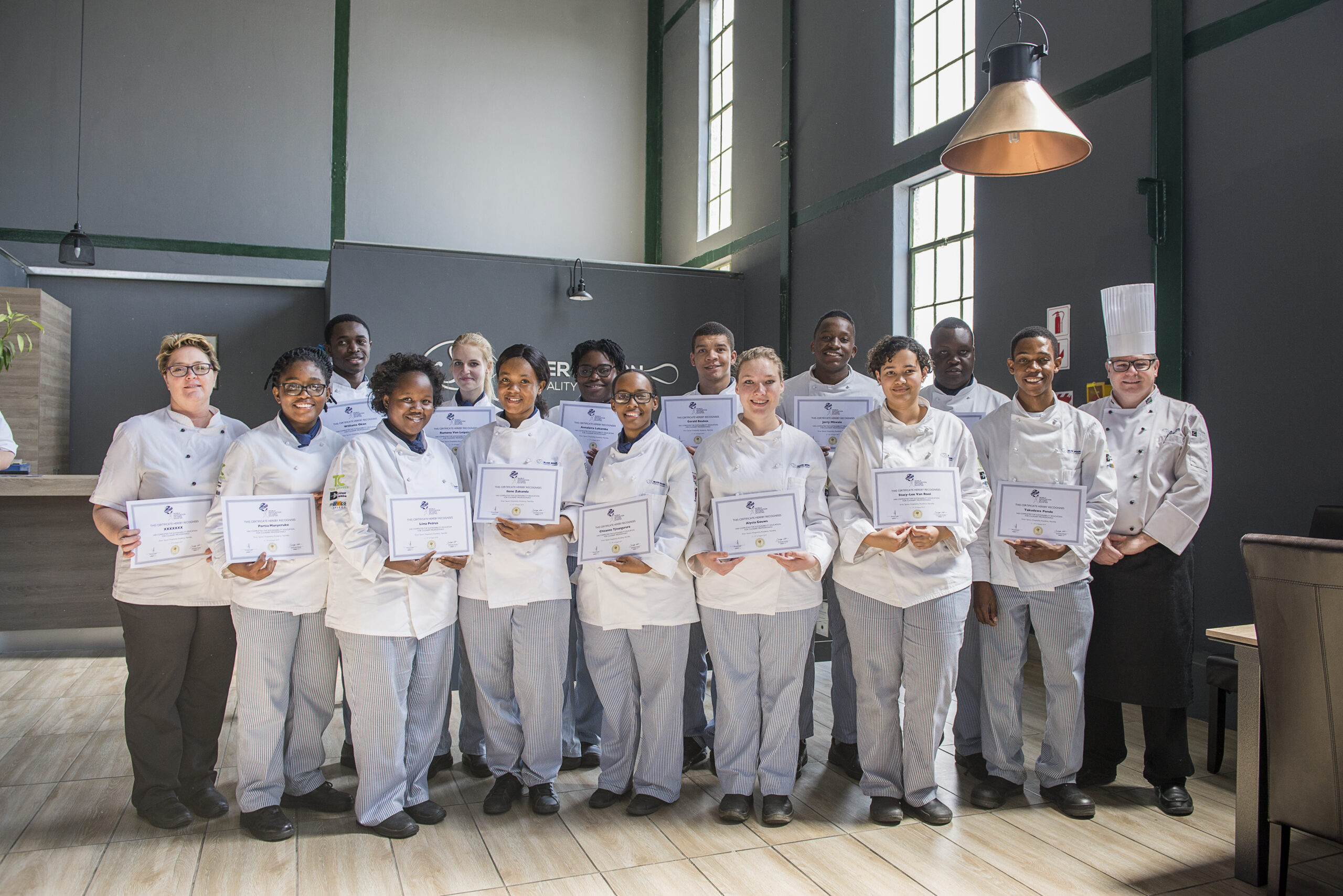 Sustainability Education for Culinary Professionals